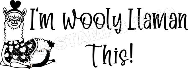 LLAMA 10 - Motivational Self Inking Teacher Stamp