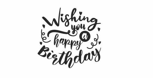 Birthday 3 Wishing you a Happy Birthday