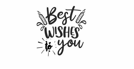 BIRTHDAY 4 Best Wishes To You Teacher Stamp