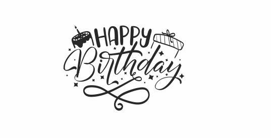 BIRTHDAY 6 - Happy Birthday Teacher Stamp