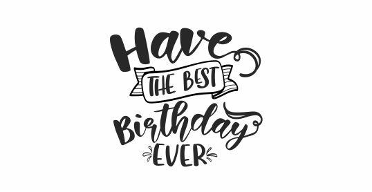 BIRTHDAY 7 - Have The Best Birthday Ever Teacher Stamp