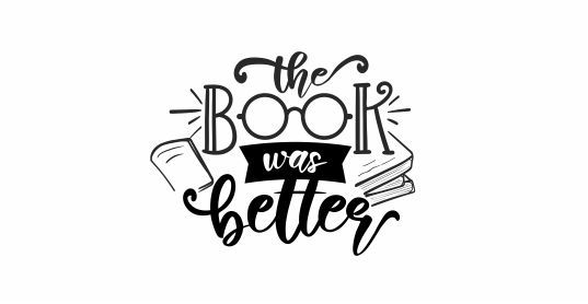 READING 6 - The Book Was Better Teacher Stamp