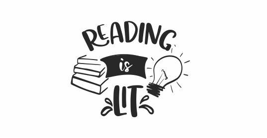 READING 4 - Reading Is Lit - Teacher Stamp