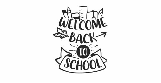 NT45 Welcome Back to School Teacher Stamp