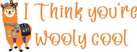 DIGITAL TEACHER STAMP 1 - Non Personalised - Wooly Cool