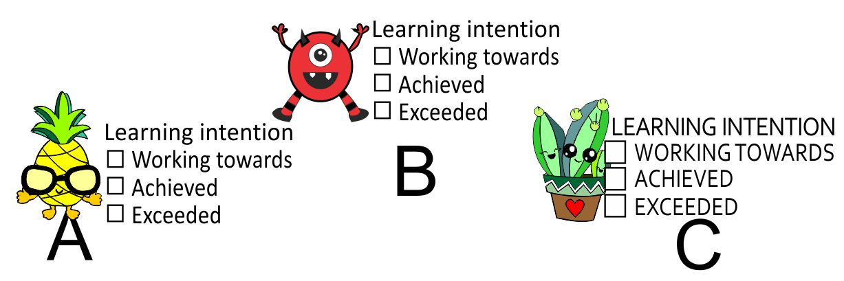 DIGITAL TEACHER STAMP 19 Non Personalised Learning Intention