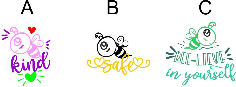 DIGITAL TEACHER STAMP 22 Non Personalised Bee