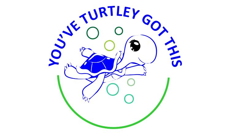 DIGITAL TEACHER STAMP 67 - Non Personalised -  Turtley Got This