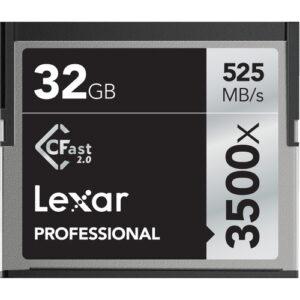 Lexar_32GB_Professional_3500x_CFast_2.0_Memory_Card