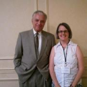 Image of Shauna and Dr. Vincent Felitti, the original author of the Adverse Childhood Experience Study.