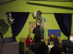 Image of Shauna speaking at a Wraparound Oregon Event.