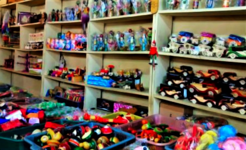 Channapatna Toys in a Local Store (PC - www.thenewsminute.com)