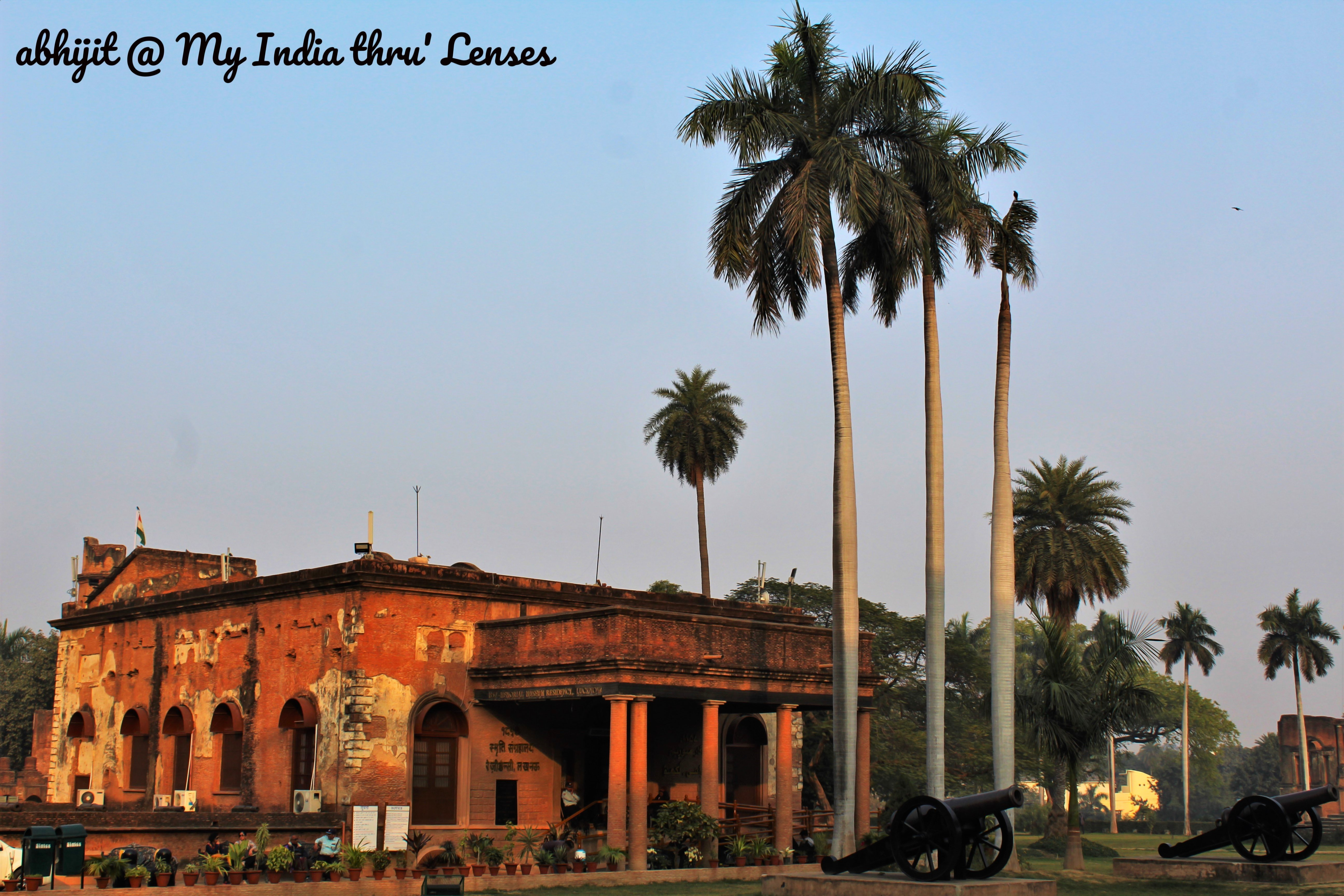 The British Residency at Lucknow
