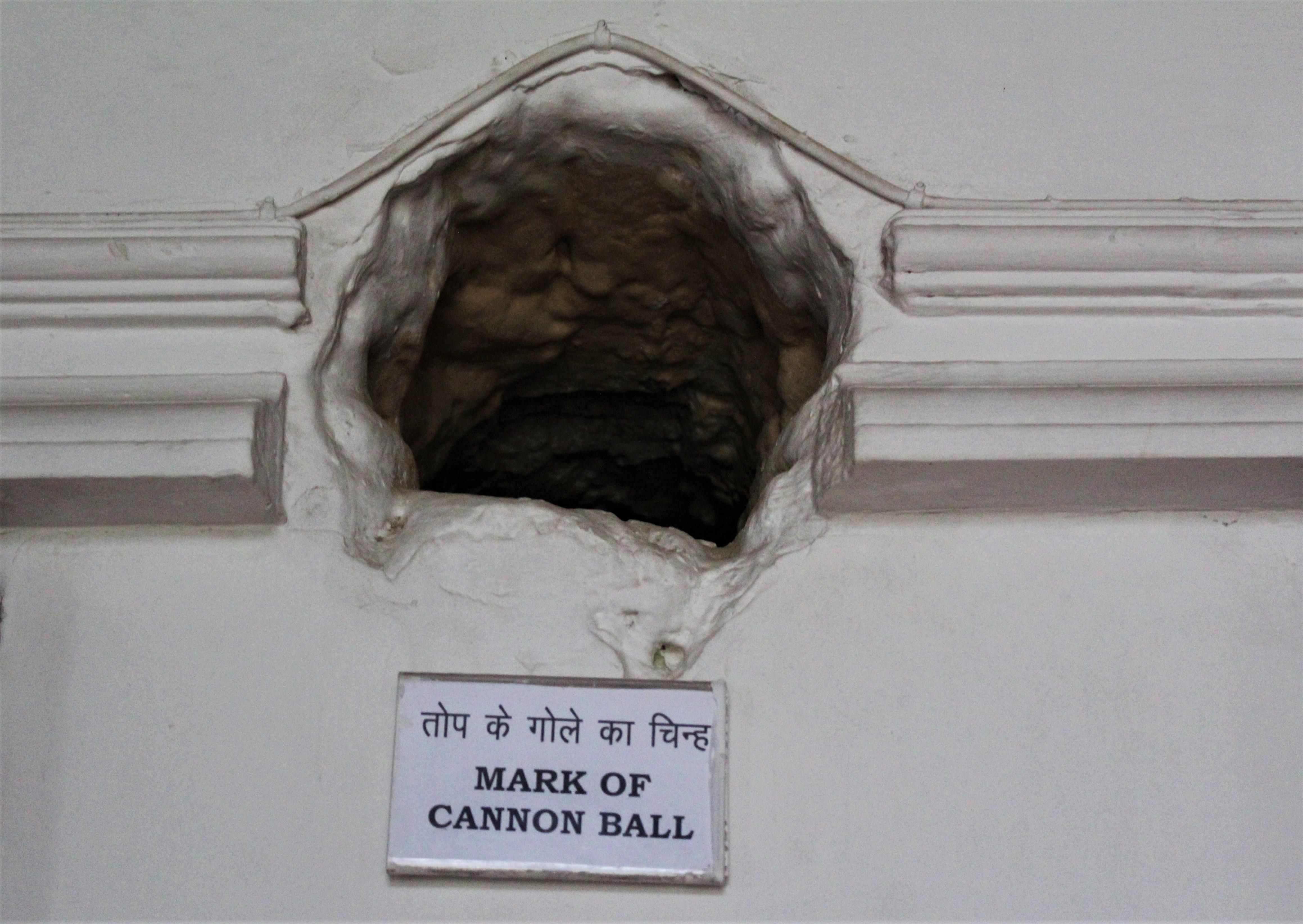 Cannon Ball Mark