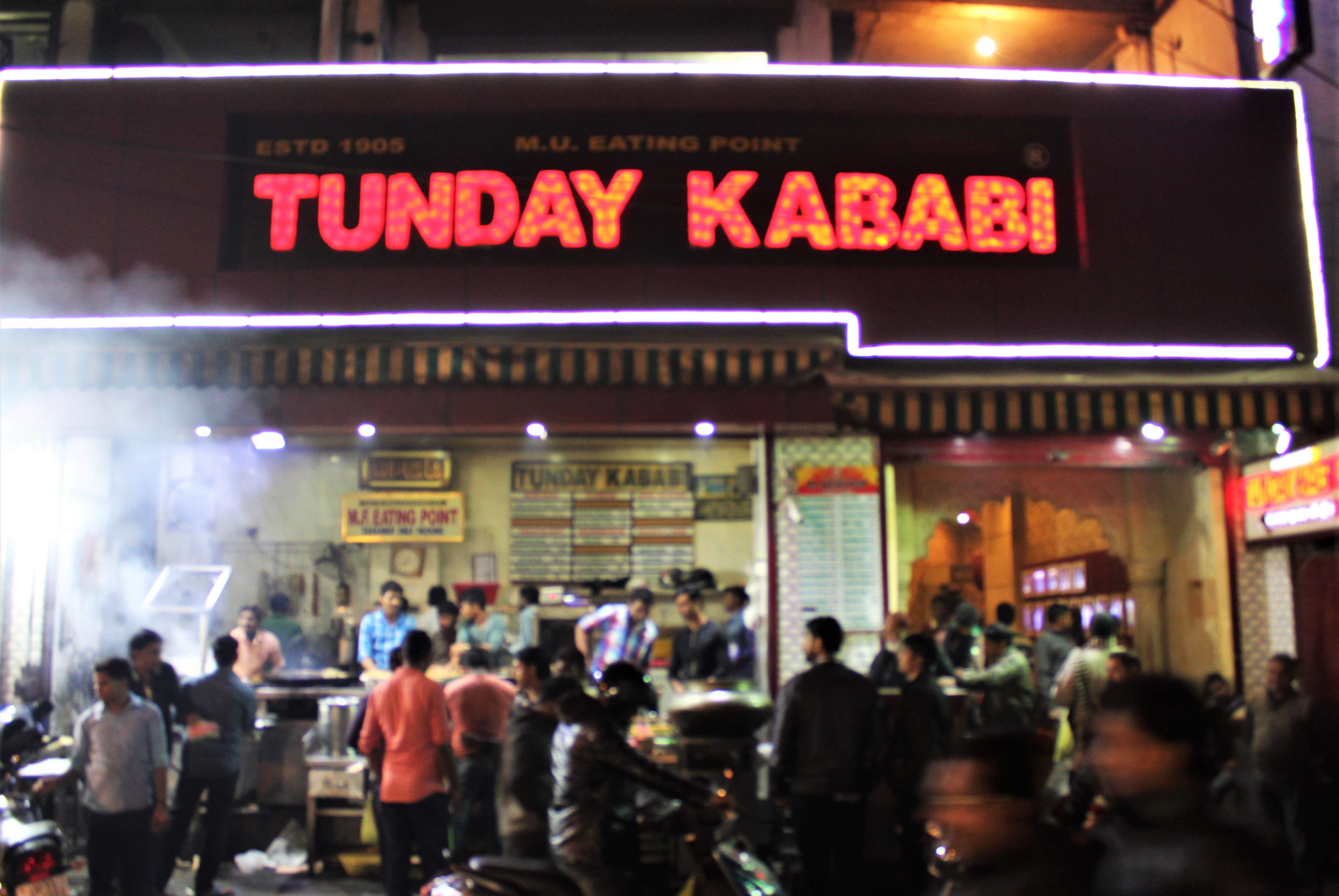 The famous Tunday Kababi - Aminabad outlet