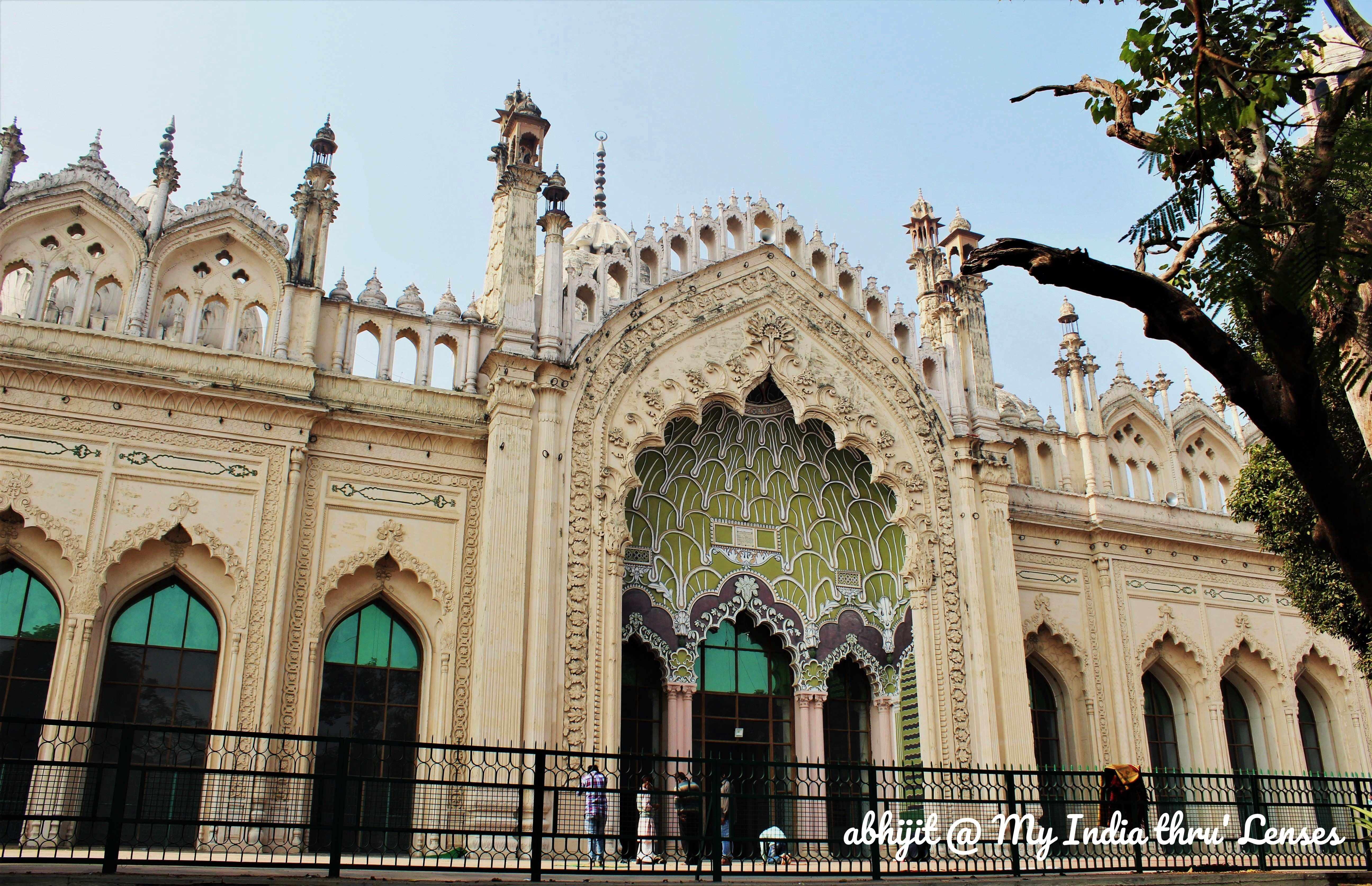 The Jama Masjid, Lucknow