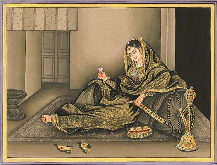 An old Painting of Umrao Jaan (Pinterest)