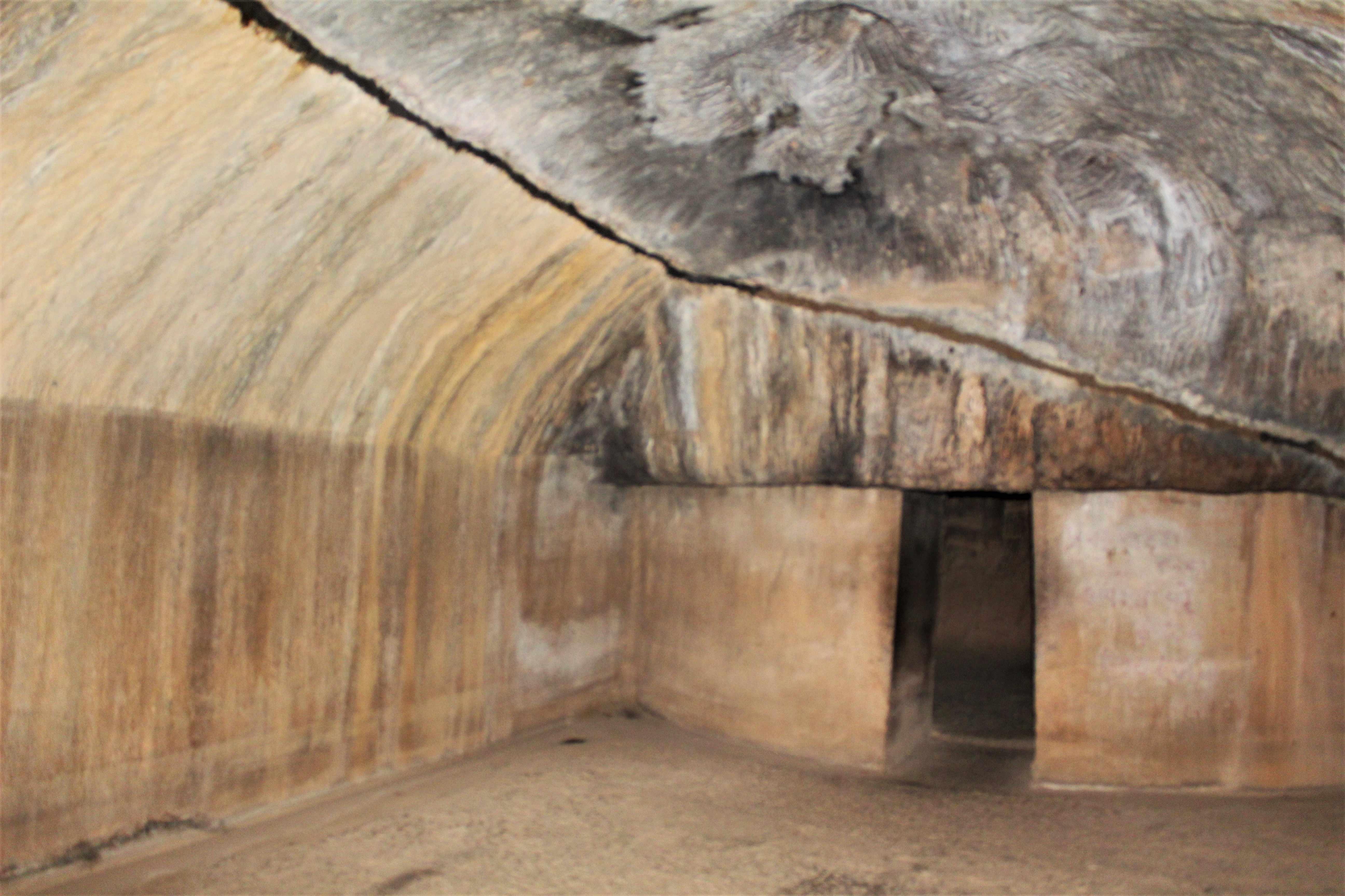 Inside Lomas Rishi Cave