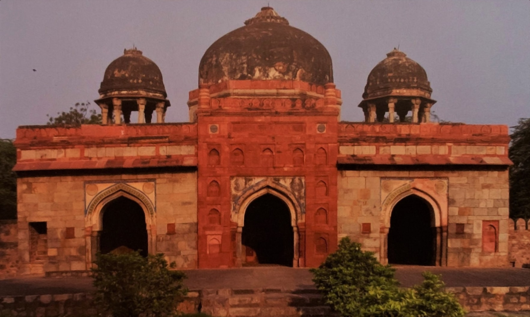 Isa Khan's Mosque (PC - Great Monuments of India)