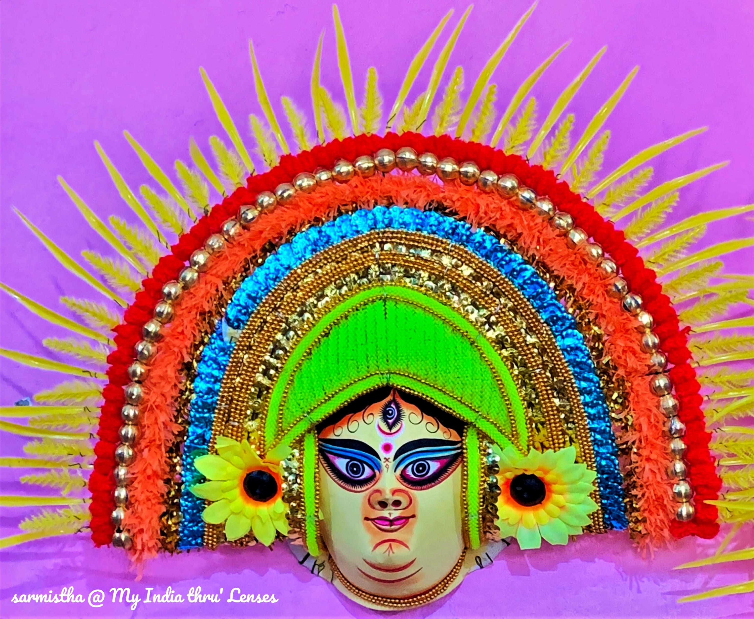 The big Durga Mask for our Collection