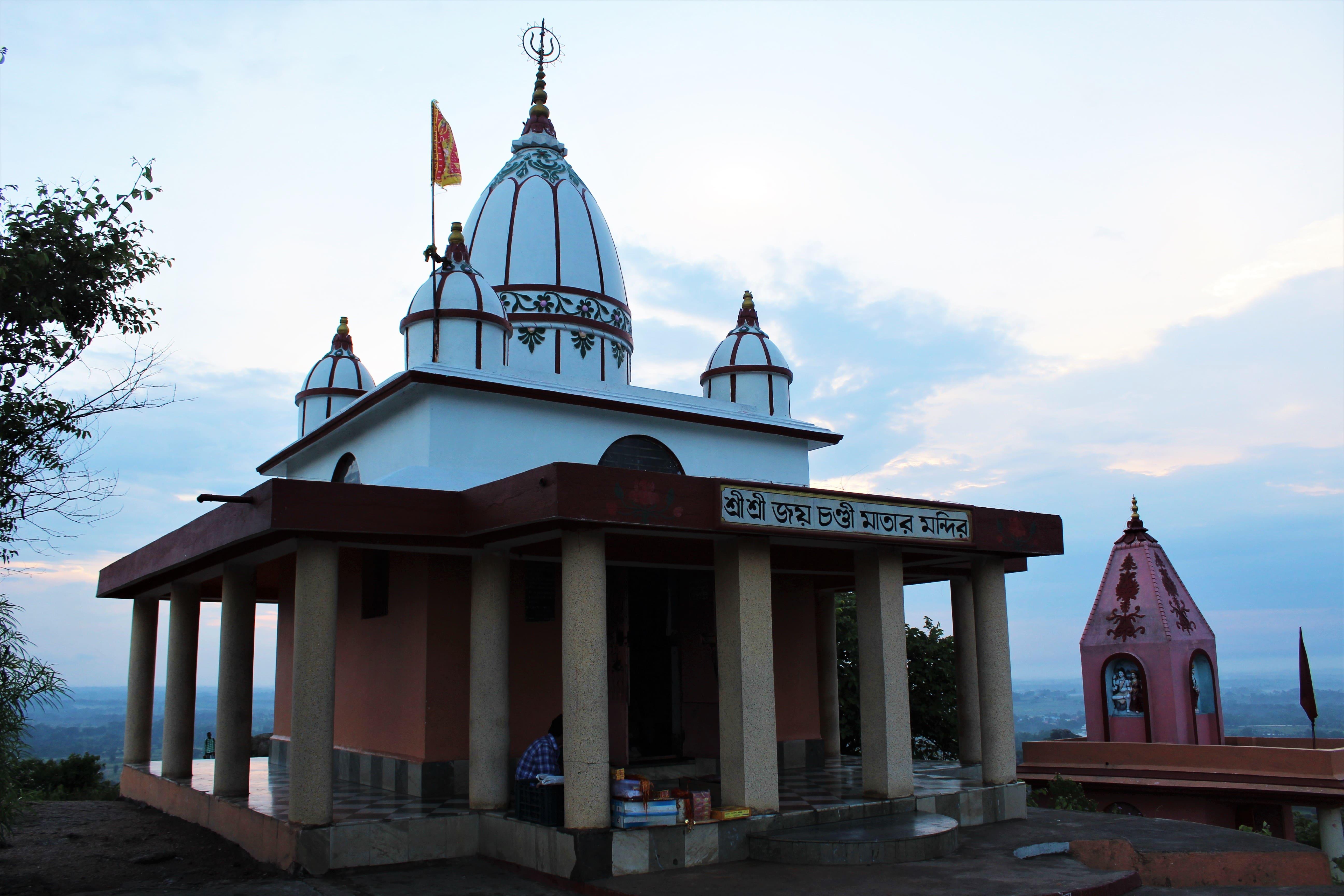 Joichandi Temple & Hanuman Temple atop Joichandi Hill