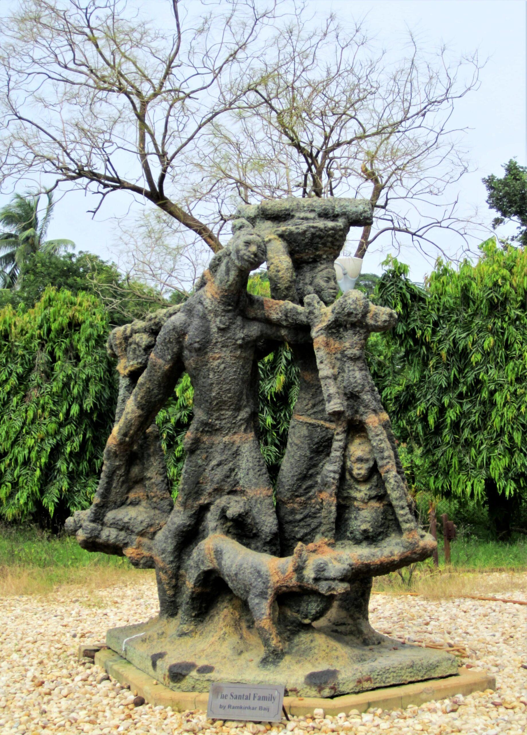 Santal Family by Ramkinkar Baij