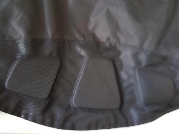 Closeup of sleeve cuffs