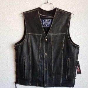 Black Vest with Zipper pockets