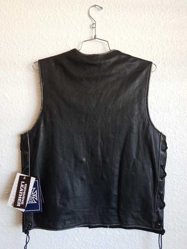 Rear view black vest