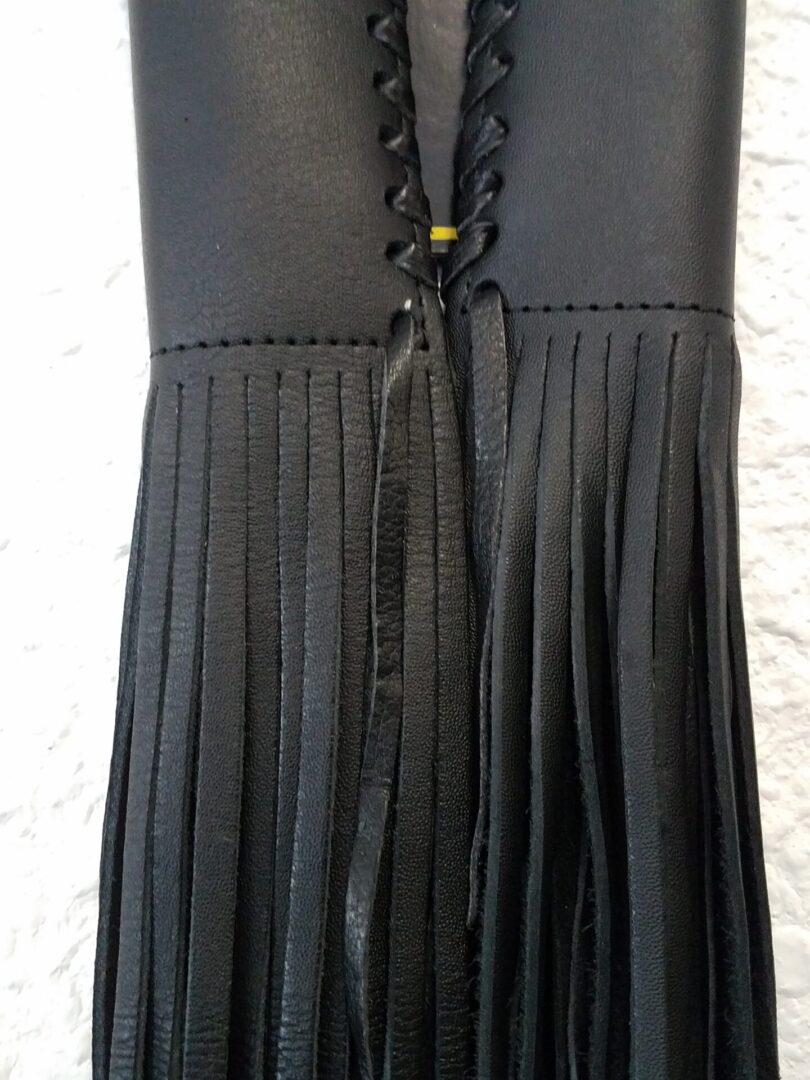 Hanadlebar Fringe Black