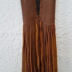 Hanadlebar Fringe tan scaled
