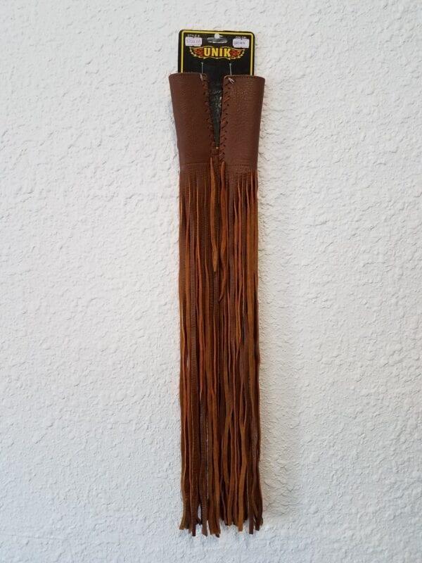 : Thumbnail handlebar fringe only in tan