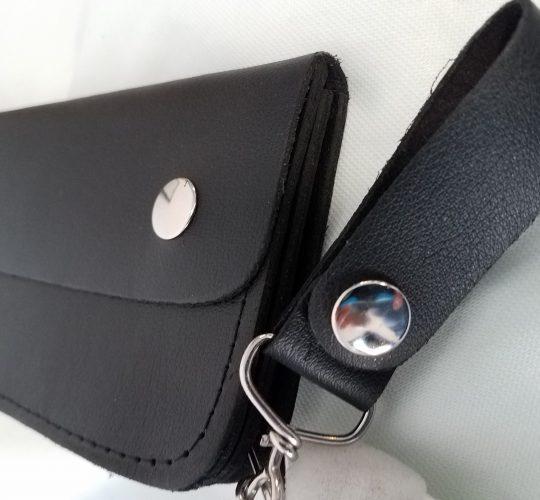 closeup thumbnail black wallet