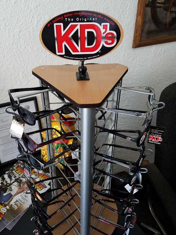 KDs Biker Glasses Rack