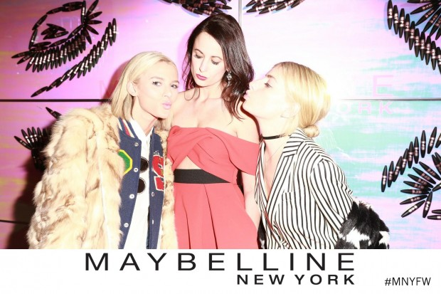 maybelline new york fashion week party