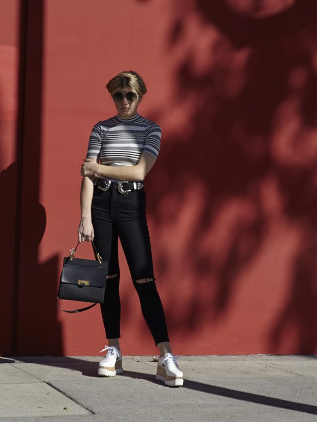 black topshop skinny jeans