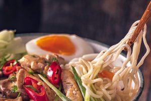 Noodle Shop & Bar Newark - Ramen Noodle bowl