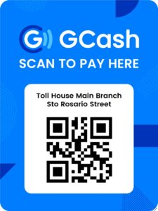 Toll House Main Branch GCash QR Code