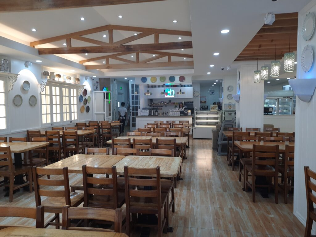 Toll House new dining area at the main branch