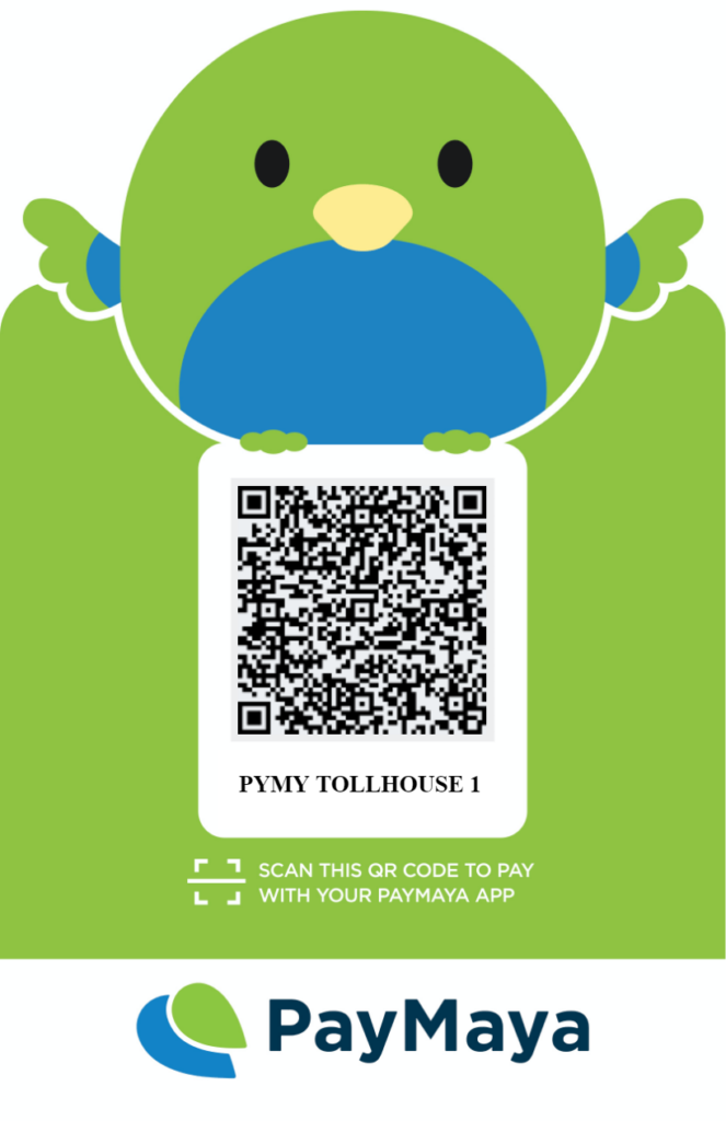 Toll House Main Branch PayMaya QR
