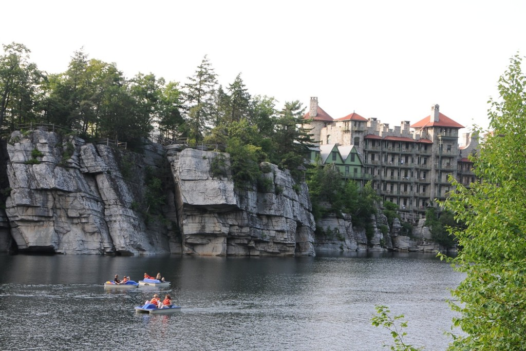 Mohonk Mountain House (1869) New Paltz, New York. Nina Smiley is nominated for Historic Hotelier of the Year © 2014 Karen Rubin/news-photos-features.com