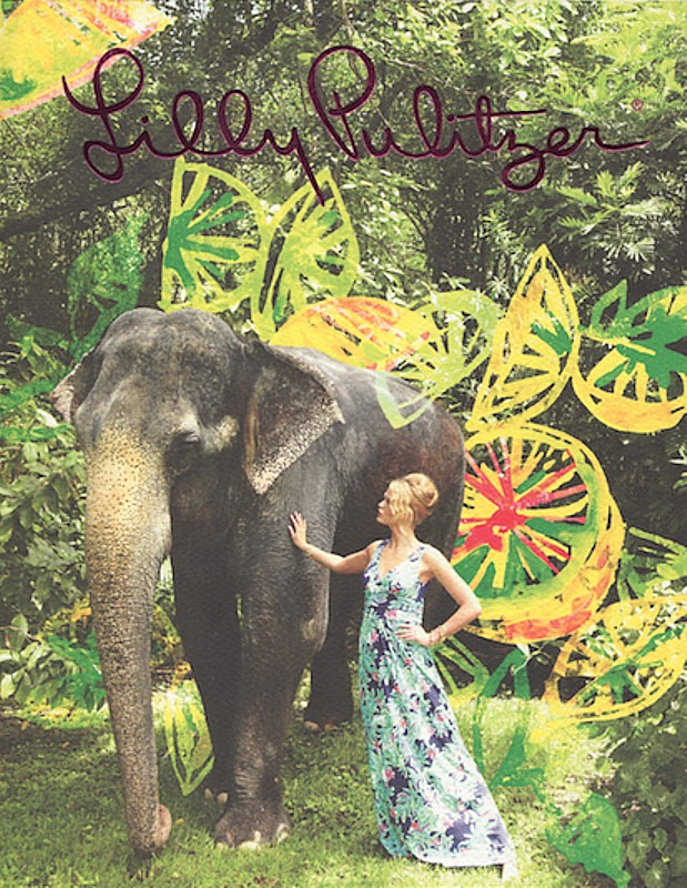 Lilly Pulitzer shop at The Gardens Mall is supporting the Palm Beach Zoo with 10% of sales donated on sales November 21.