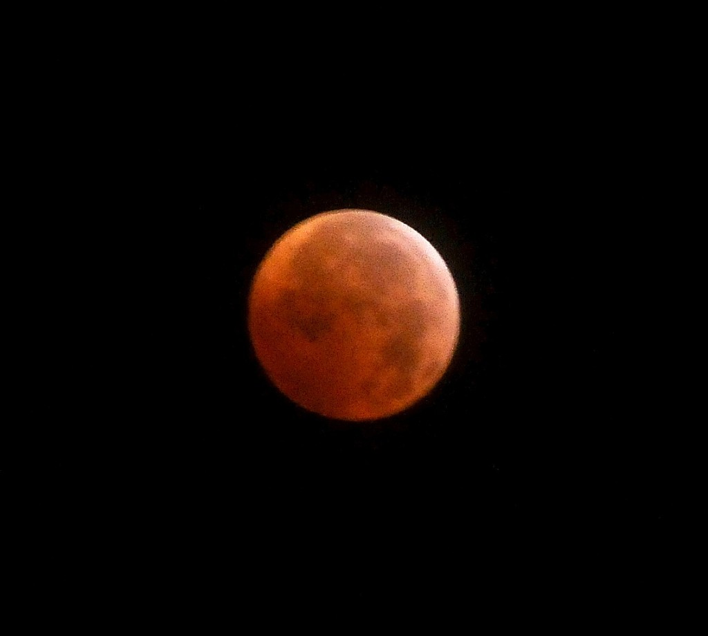 "Lunar Eclipse on the winter solstice, Dec. 21, 2010. Nova Scotia is the first North American destination given ""Starlight"" certification. © 2014 Karen Rubin/news-photos-features.com"