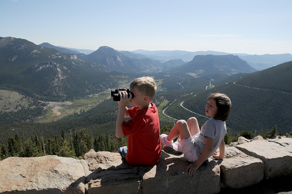 "Rocky Mountain National Park, Colorado. Under President Obama's new ""Every Kid in a Park"" initiative fourth graders and their families will have with free admission to National Parks and other federal lands and waters for a full year © 2015 Karen Rubin/news-photos-features.com"