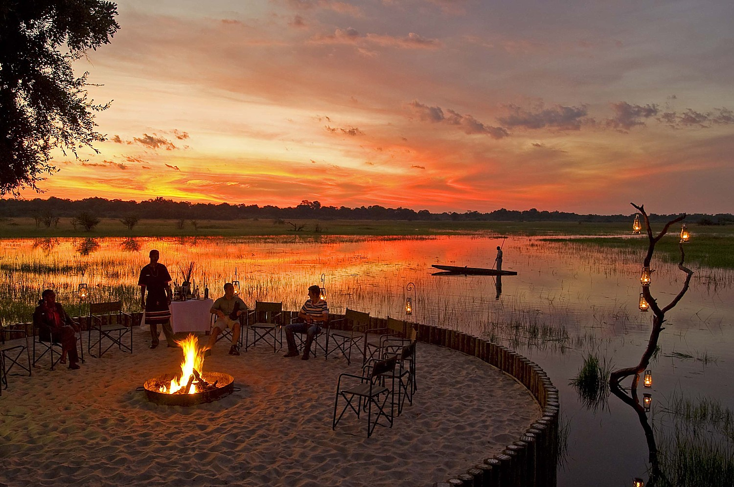 Celebrate the reopening of Sanctuary Chief's Camp in Botswana  with Abercrombie & Kent President  (c) Sanctuary Retreats