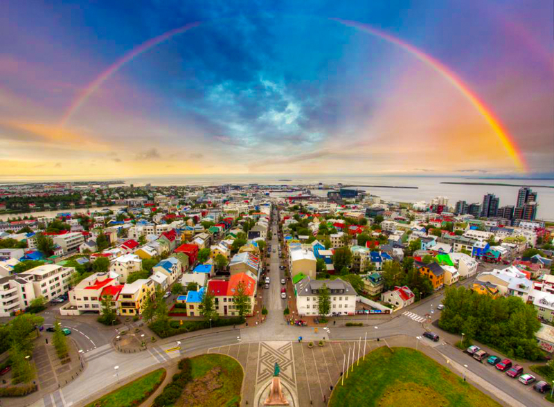 The ultimate festival experience is Reykjavík, Iceland's Secret Solstice Festival, held over the summer solstice with almost round-the-clock sunlight.