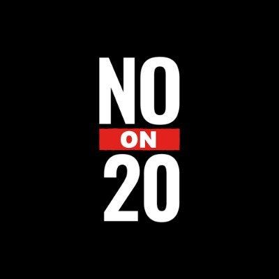 No on California Prop 20
