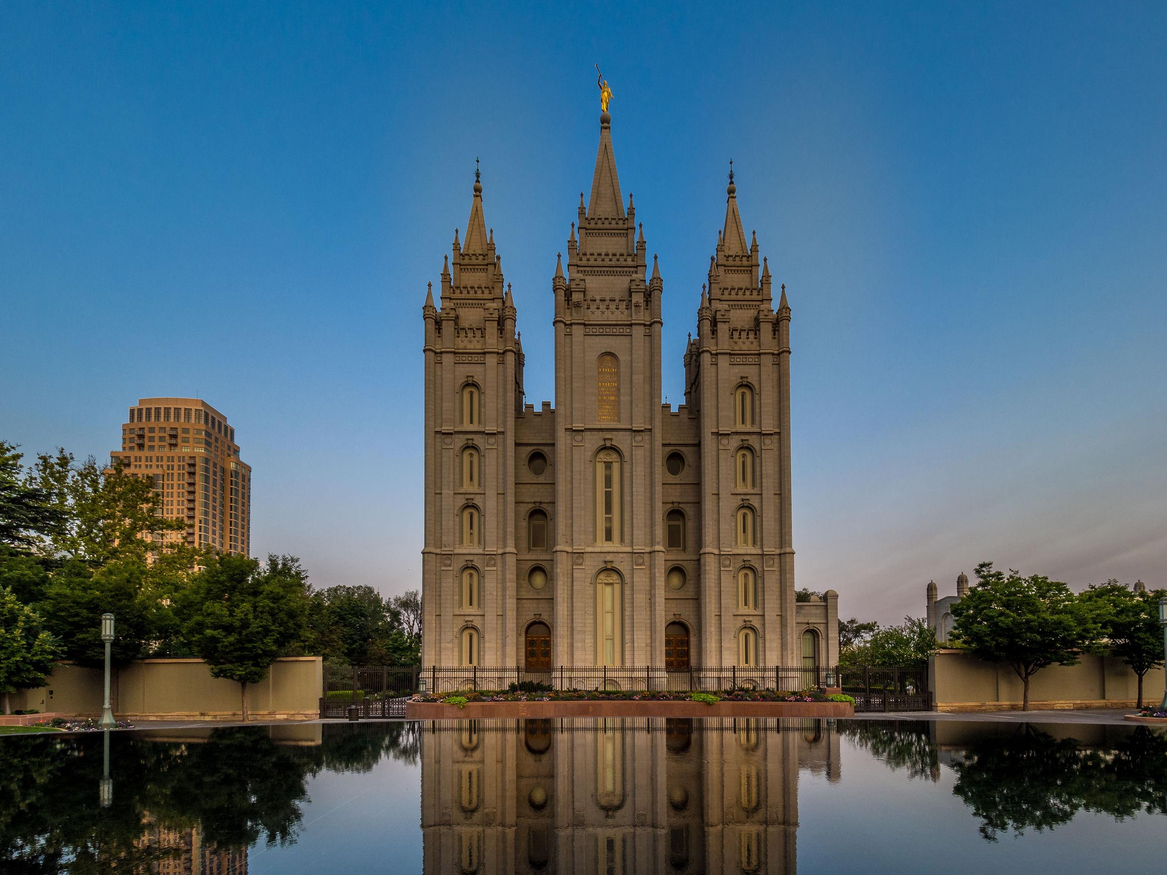 Mormon Temple in SLC