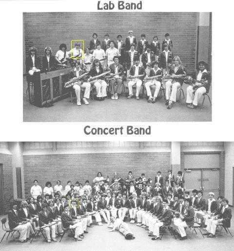 Russ Belville 9th Grade Band Photos