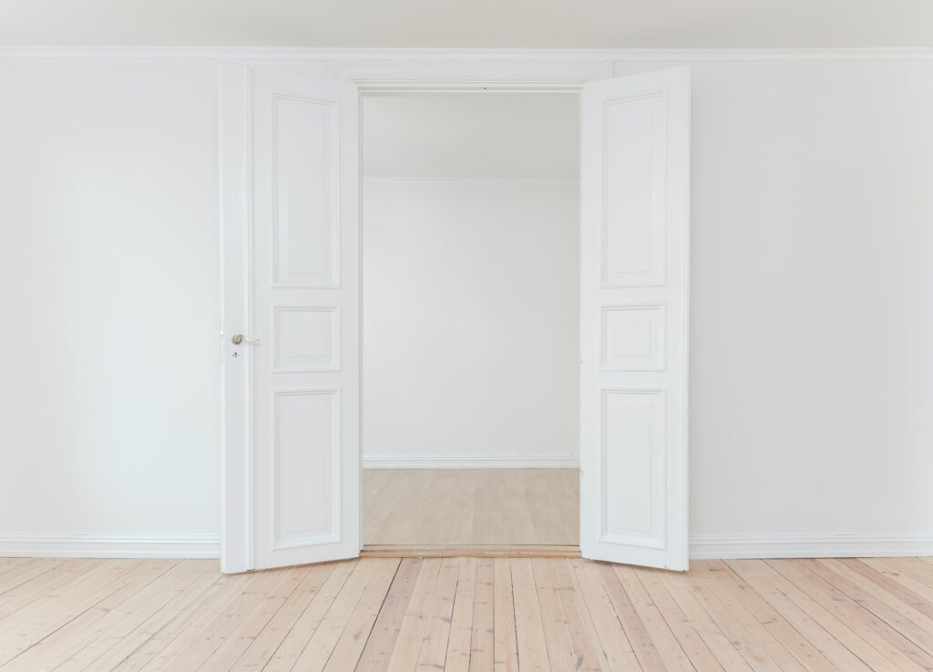 Empty House Doorway - Real Estate Agents